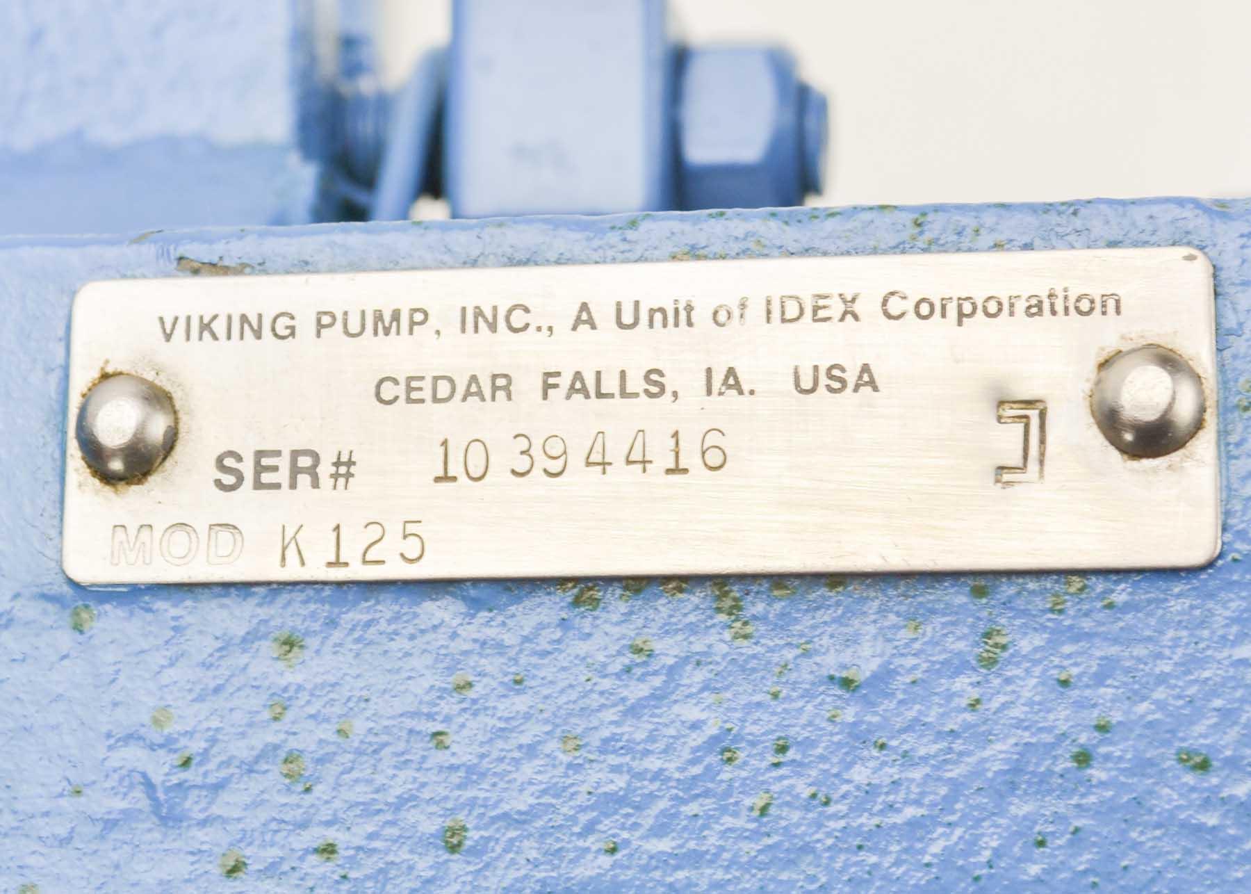 Viking<sup>®</sup> K125 Pump 4-2515-2616-501