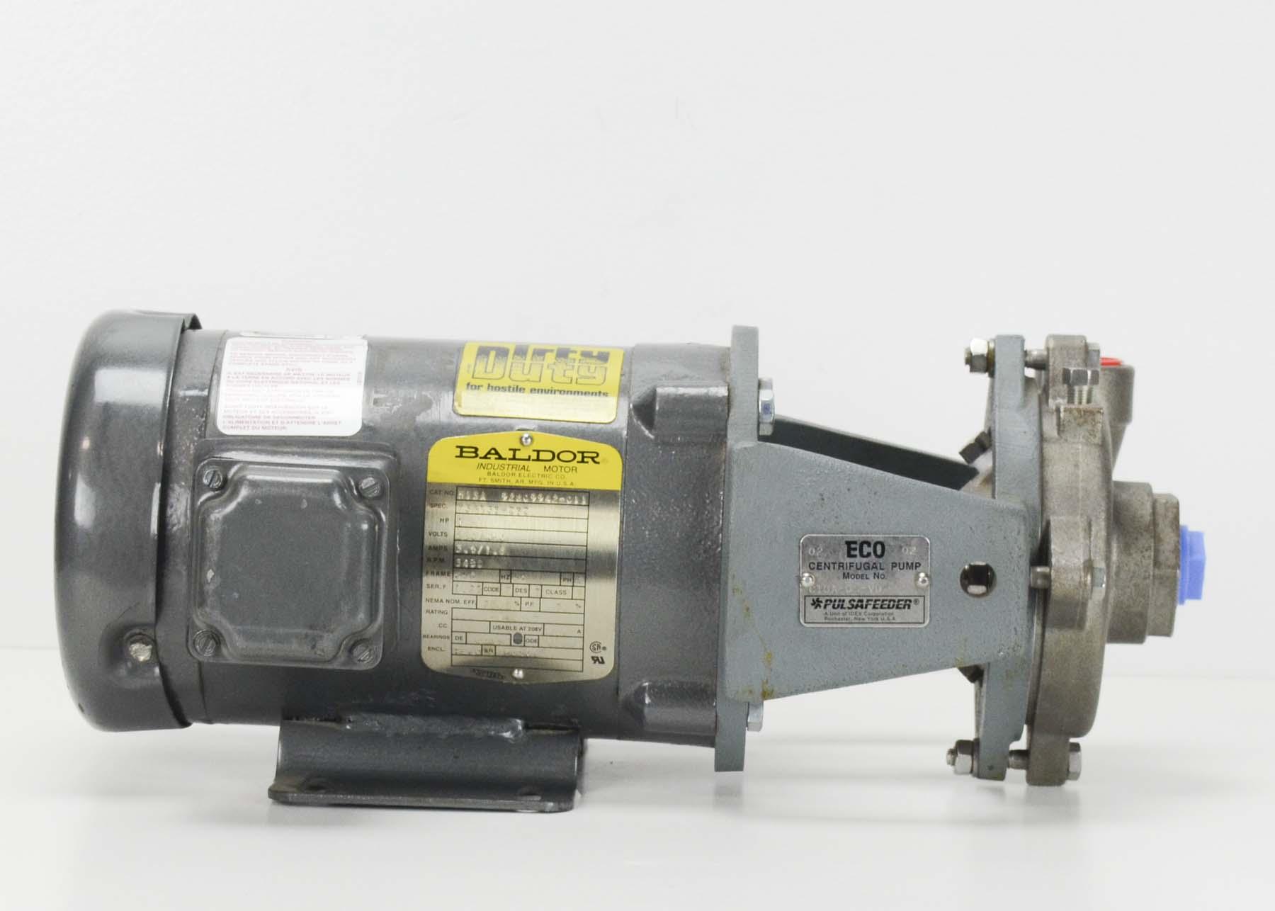 Pulsafeeder® C10A-05-VD Pump, Stainless, 3 75