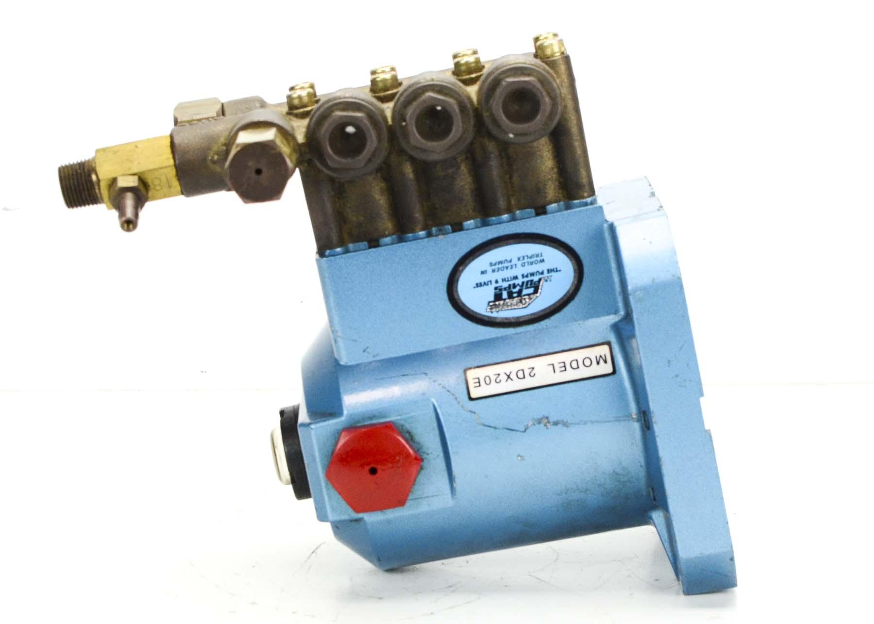 Cat Pump 2DX20E Pump, Threaded Ports (New) - PumpRack com